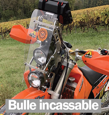 bulle moto polycarbonate