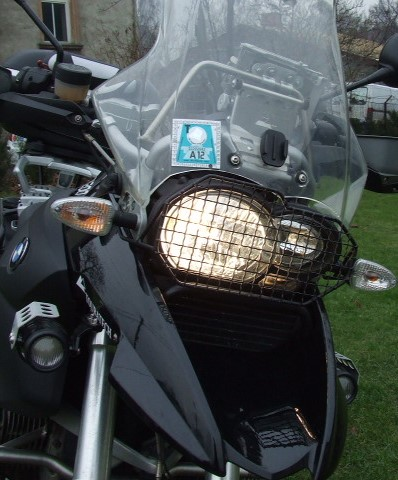 headlight protection for 1200 GS