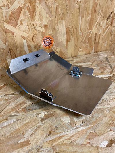 sabot moteur aluminium Honda XR