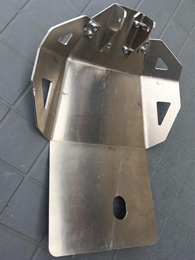 sabot moteur kawasaki klr 650