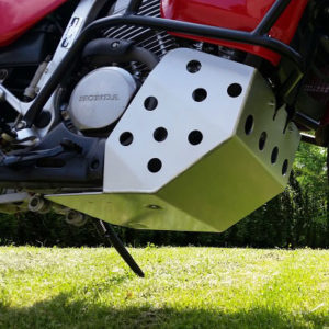 sabot moteur enveloppant honda transalp