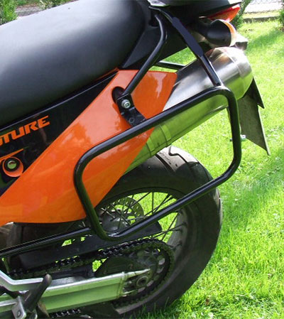 support valises KTM 950 Adventure
