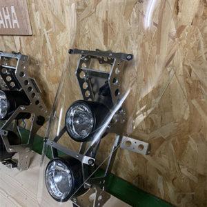 tête de fourche rallye motoboxer