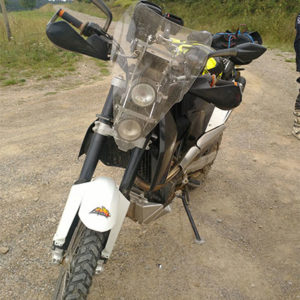 tête de fourche rally ktm 690 enduro