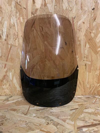 bulle haute fumé clair honda africa twin 750 avant 1996