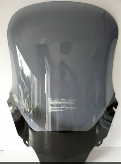 bulle haute fumé foncé honda transalp 650