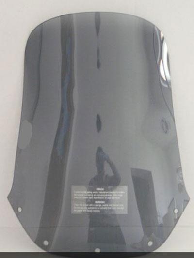 bulle haute fumé foncé pour Yamaha 660 XTZ avant 2008