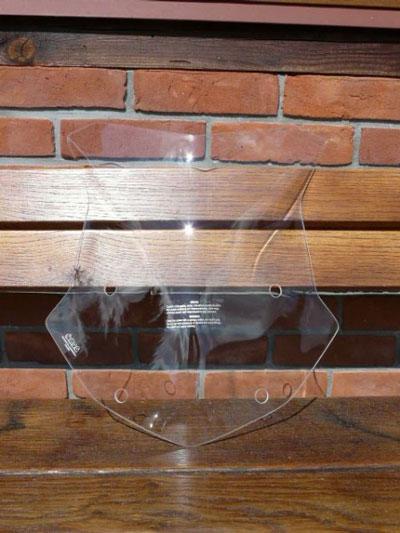 bulle haute transparente bmw R1200 GS depuis 2013