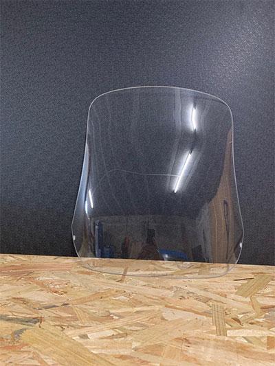 bulle haute transparente honda africa twin 650