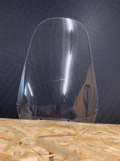 bulle haute transparent honda africa twin 750 à partir de 1996