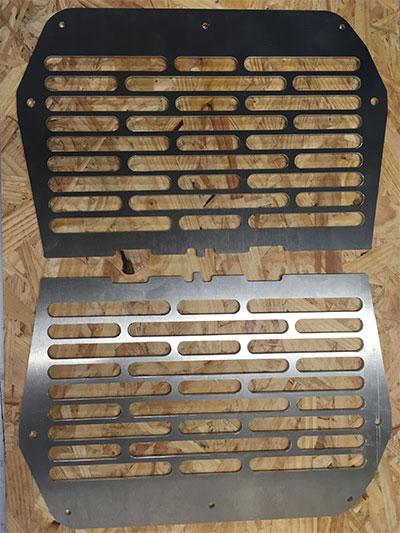 protection de radiateur honda africa twin 650 & 750