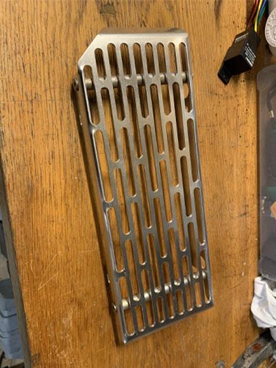 protection de radiateur ktm 525 EXC