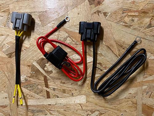 Connecteur et câbles pour régulateur MOSFET
