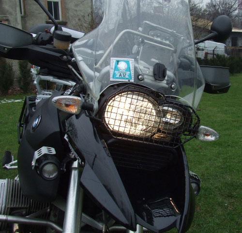 protection de phare BMW R1200 GS jusqu'à 2012