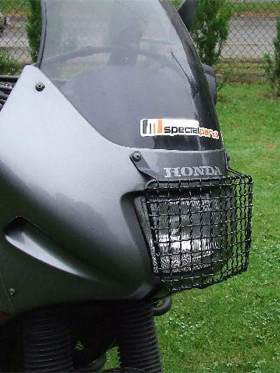 protection de phare honda transalp 600