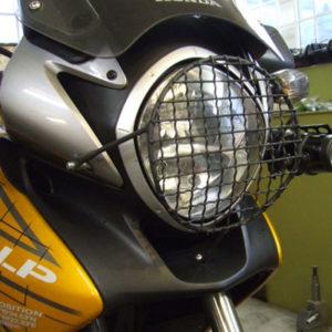 protection de phare honda transalp 700