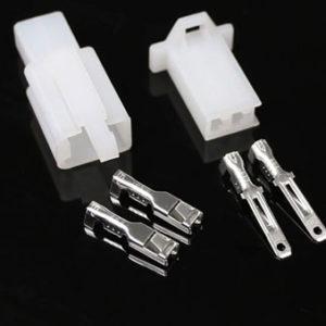 Set connecteur 2 broches