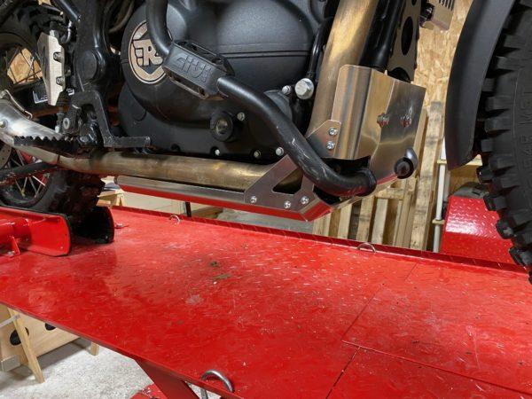 sabot moteur royal enfield himalayan