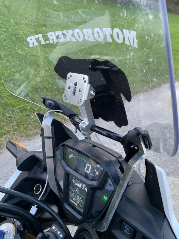 Support GPS pour barre diamètre 10, 12 et 16mm