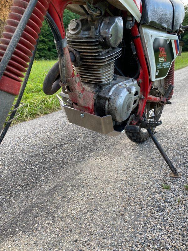 Sabot moteur XLR et XLS 125