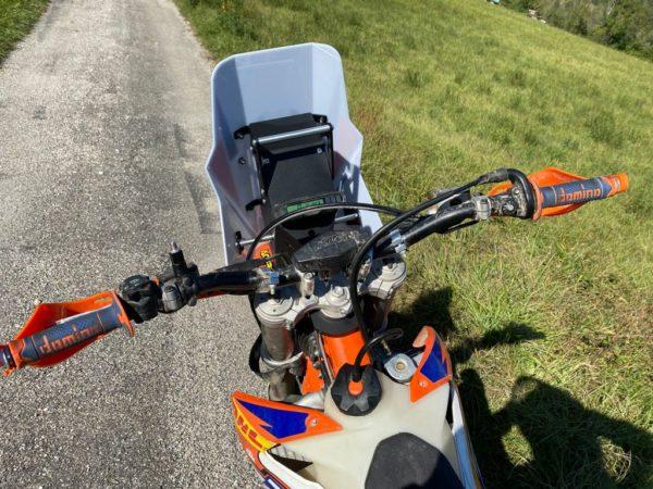 Tête de fourche rallye KTM EXC 450